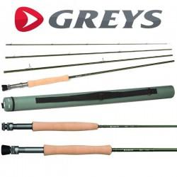 """Greys GR30 7'6"""" 3wt 4pc Fly Rod"""