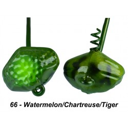 Picasso Shake-E-Football 3/16 Oz Watermelon Chartreuse Tiger
