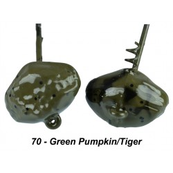 Picasso Shake-E-Football 1/4 Oz Green Pumpkin  Tiger