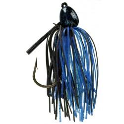 Strike King Bitsy Bug Mini Jig Black Blue 1/4oz