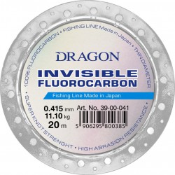 Dragon Invisible Flurocarbon 0.345mm 7.9kg 20m