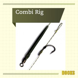 Docks Ready Made Hooklink Combi Rig 6