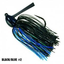 Strike King 1/2 Oz Hack Attack Heavy Cover Jig BLACK BLUE