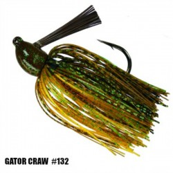 Strike King 3/4 Oz Hack Attack Heavy Cover Jig GATOR CRAW
