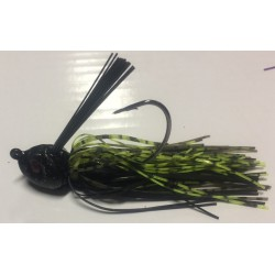 Hillbilly Poisen 1Oz Weedless Heavy Cover Jig Springbok