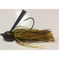 Hillbilly Poisen 3/4Oz Weedless Heavy Cover Jig Autumn Craw