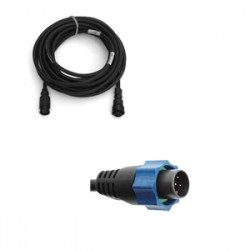 Airmar Xsonic Transducer Adapter & 29' Extension Cable to  Lowrance 7-Pin Blue Socket