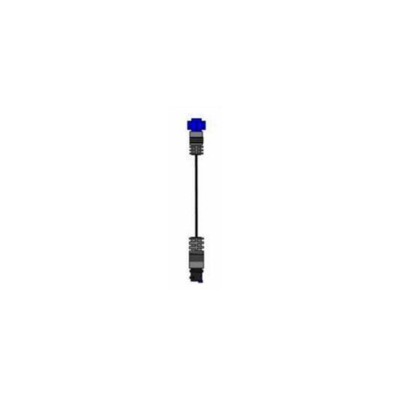 Airmar xSonic CHIRP 9 Pin Black Top Transducer to Lowrance 7 Pin Blue UNIT  Socket Adapter Cable