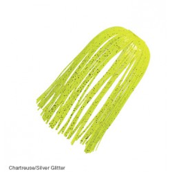 Z-Man EZ Skirts Chartreuse Silver Scale