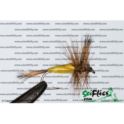 SciFlies Yellow Wulff Standard 14 3Pack