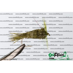 SciFlies DDD Olive 14 3Pack