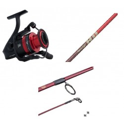 Black Max Cherrywood Spinning  Combo