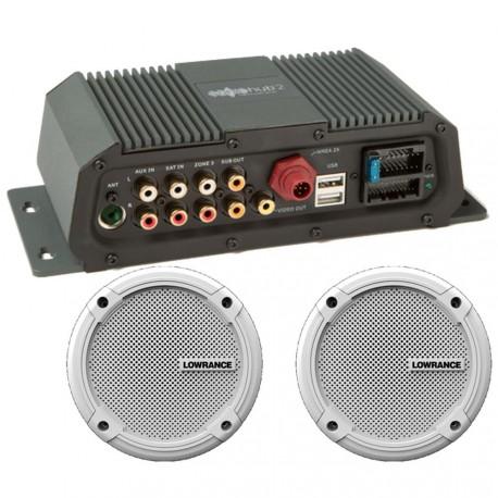 Lowrance Sonic Hub 2 Marine Audio Server