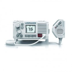 Lowrance LINK-6 DSC VHF 25 Watt Radio -White Case