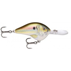 "Rapala Dives-To DT10 LIVE RIVER SHAD 2 1/4"" 3/5oz"