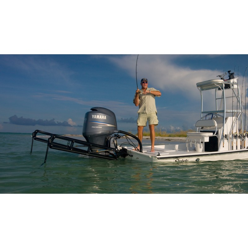 Power-Pole Blade Edition 10' Black Shallow Water Anchor - World Of