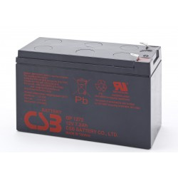 CSB  7-2 A-H 12 Volt Sealed AGM Battery - F2 Terminals