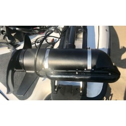 Lowrance TotalScan Transducer to MINN kOTA Trolling Motor Mounting Bracket