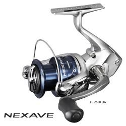 Shimano Nexave 2500 HGFE Front Drag Spinning Reel