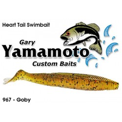 "Gary Yamamoto Heart Tail Shad Swimbait Goby 4.5"""