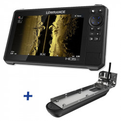 Lowrance HDS-9 LIVE CASH BACK REBATE ACTIVE IMAGING FishFinder / ChartPlotter with 3-in-1 Transducer Bundle