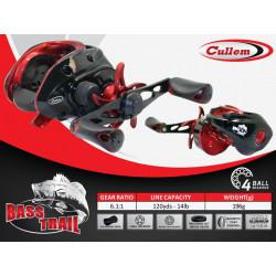 Cullem BASS TRAIL 6,1:1 Baitcaster Reel