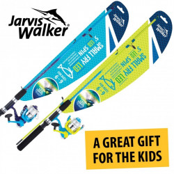 Jarvis Walker Small Fry Kiddies 5 foot - LED Flash 2 piece  5 foot  Spinning Combo