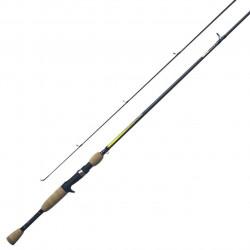 Quantum QX36 6' M - Fast Action 2 Pce IM7 Graphite Baitcaster Rod