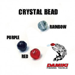 Damiki Crystal Beads - 8 mm RED