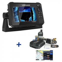 Lowrance HDS-7 LIVE CASH BACK REBATE Outboard Hydraulic Autopilot Pack Bundle