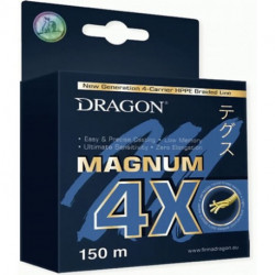 Dragon Magnum 4X 0.08 mm  6 kg 300m Light Grey