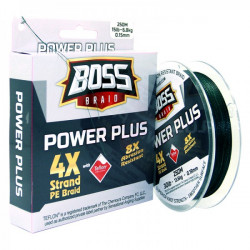 Boss Power Plus 4X Braided Line 250 m Spool