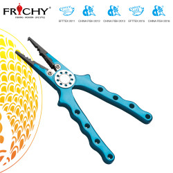 Frishy Aluminum Fishing Pliers X12 Blue 7""