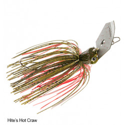 Jack Hammer Chatterbait 3/8 Oz Hite's Hot Craw by Evergreen and Z-Man