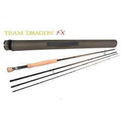 Team Dragon FX - 9 ' 4 Weight 4 Piece Fly Rod