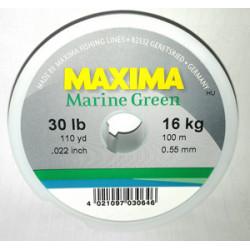 MAXIMA MARINE GREEN 20 LB / 10 kg Test 110 Yard / 100 M MINI SPOOL