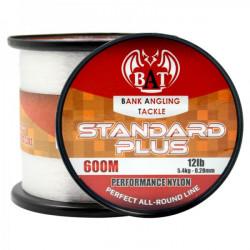 BAT Standard PLUS Clear 12 lb Clear 600 m Nylon Fishing Line