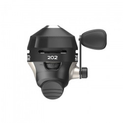 Zebco 202 SpinCast Closed Face Fishing Reel - Black