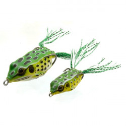 sensation Hollow Frog Small GREEN FROG 7g - 4.5 cm