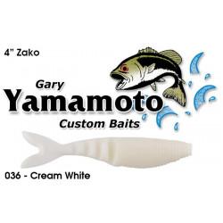 """Yamamoto 4"""" ZAKO Cream White"""