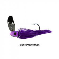 3/8 Oz Picasso Shock Blade Chatterbait Purple Phantom