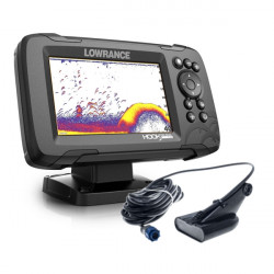 Lowrance HOOK Reveal 5 83/200 with Deep Water Performance & World Base Map