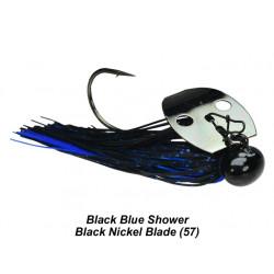 Picasso Tungsten Knocker Football Shock Blade Chatterbait  1/2 Oz Black Blue