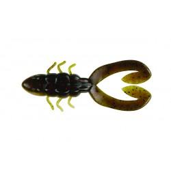 "Berkley Powerbait Chigger Toad Green Pumpkin Red Pearl 4"""