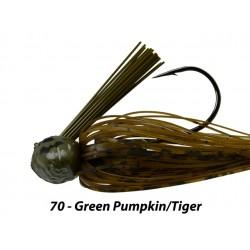 Picasso Fantasy Football Jig Green Pumpkin Tiger 3/8 oz 4/0