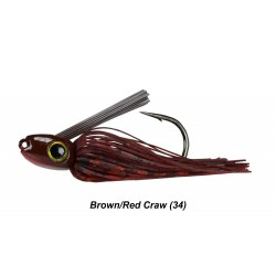 Picasso Straight Shooter Jig Brown Red Craw