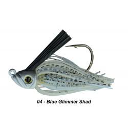 Picasso Swim Jig Blue Glimmer Shad 1/2 oz 5/0