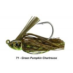 Picasso Swim Jig Green Pumpkin Chartreuse 3/8 oz 5/0