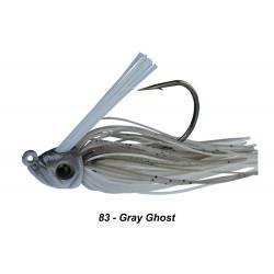 Picasso Swim Jig Grey Ghost 1/4 oz 5/0