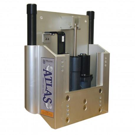 ATLAS HYDRAULIC 6 INCH SET BACK JACK PLATE, MAX HP 300HP